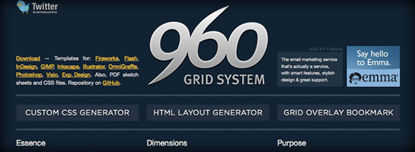 10 Really Outstanding and Useful CSS Grid Systems