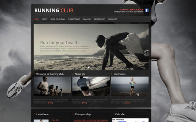 20 Examples of Cool Sports Websites
