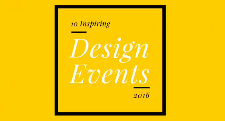 Creative events in 2016