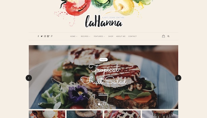 7 Best Responsive Food Blog WordPress Themes