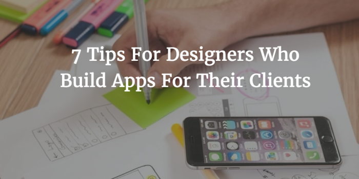 tips for designing apps featured image